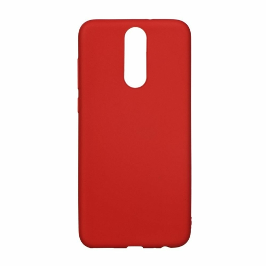 Forcell Soft Piros TPU szilikon tok, Samsung Galaxy A8 (2018) SM-A530F