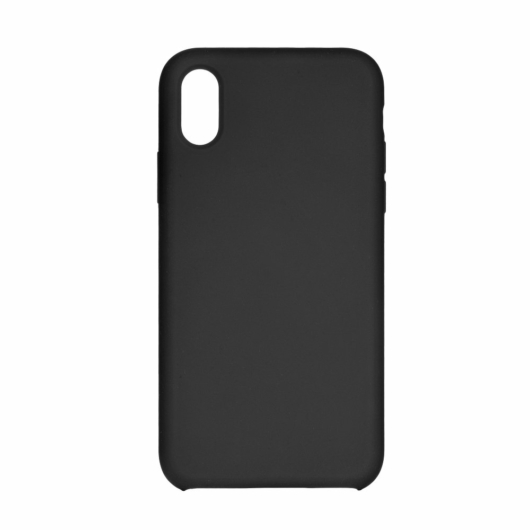 Forcell Silicone Fekete TPU szilikon tok Samsung Galaxy A7 (2018) SM-A750F