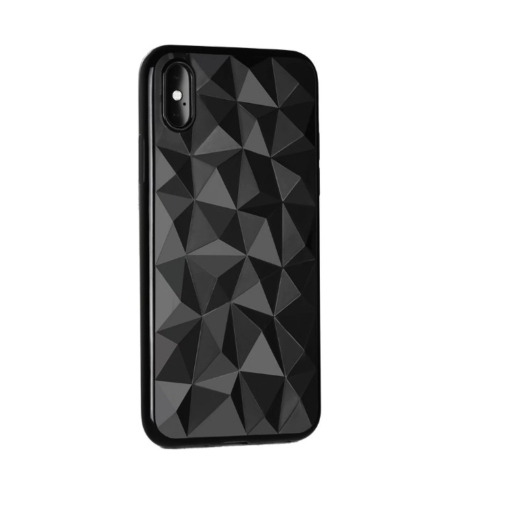 Forcell Prism Fekete TPU szilikon tok Apple iPhone X/Xs