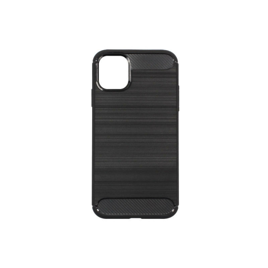 Forcell Carbon Fekete TPU szilikon tok Samsung Galaxy A21s, SM-A217F