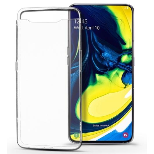 T-Phox ütésálló átlátszó (víztiszta) TPU szilikon tok Samsung Galaxy A80 SM-A805F