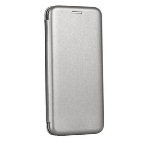 Grafit oldalra nyíló mágneses flip tok  Apple iPhone 12 Pro