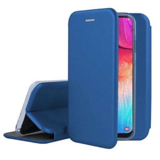 Kék oldalra nyíló mágneses flip tok  Apple iPhone 12