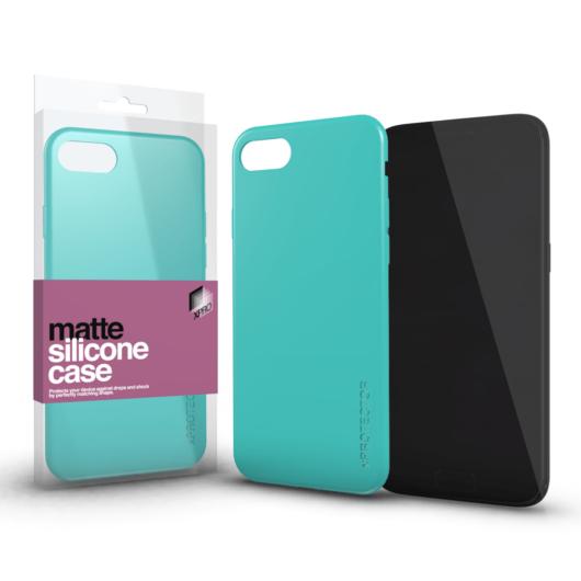 Xprotector Matte Mentazöld TPU szilikon tok, Apple iPhone 12