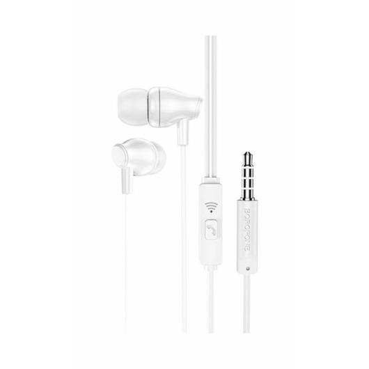 Borofone BM61 sztereó headset 3,5mm fehér