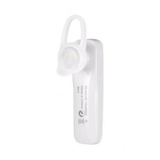 JM Aoly Bluetooth headset töltőkábellel - fehér