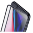 Kép 2/5 - Baseus Dust-proof Porvédős teljes kijelzős, edzett üveg fólia Apple iPhone 6 Plus - fekete kerettel