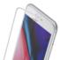Kép 2/5 - Baseus Dust-proof Porvédős teljes kijelzős, edzett üveg fólia Apple iPhone 7 Plus/8 Plus - fehér kerettel
