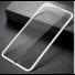 Kép 2/4 - Baseus Silk Screen teljes kijelzős, edzett üveg kijelzővédő fólia Apple iPhone SE 2020 - fehér