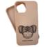 Kép 2/2 - Cellect bézs maszkos koala mintájú TPU szilikon tok, iPhone 12 Mini