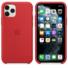 Kép 2/2 - Apple Piros Gyári Szilikon hátlapi TPU tok, iPhone 12/12 Pro
