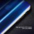 Kép 3/4 - Baseus Aurora Case Kék Ombre Irizáló PC (műanyag) tok, iPhone Xs MAX