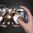 Kép 3/5 - Baseus Lightning kábel, Exciting Mobile Game, lekerekített L-alakú csatlakozó, 2.4A, 1m, fekete